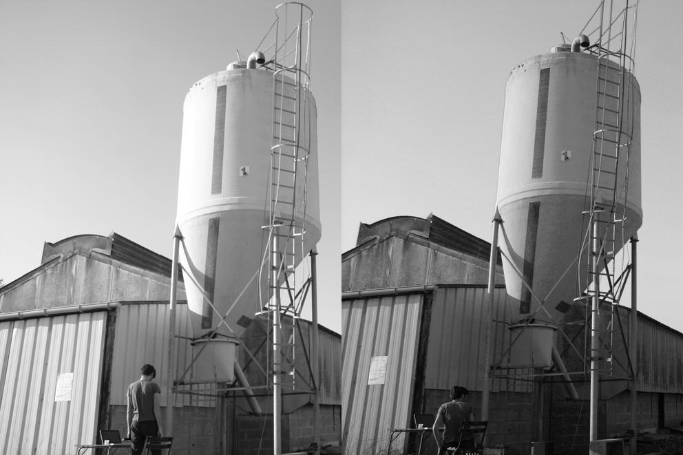 la Régie - concert pour silop à grain et micro hf